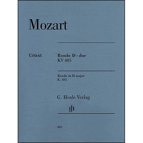 G. Henle Verlag Wolfgang Amadeus Mozart - Rondo in D Major K. 485