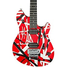 Wolfgang Special Electric Guitar Red, Black, and White Stripes