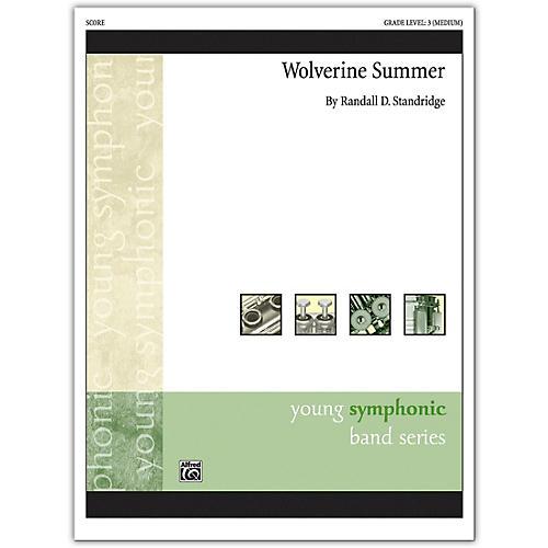 Alfred Wolverine Summer Conductor Score 3 (Medium)
