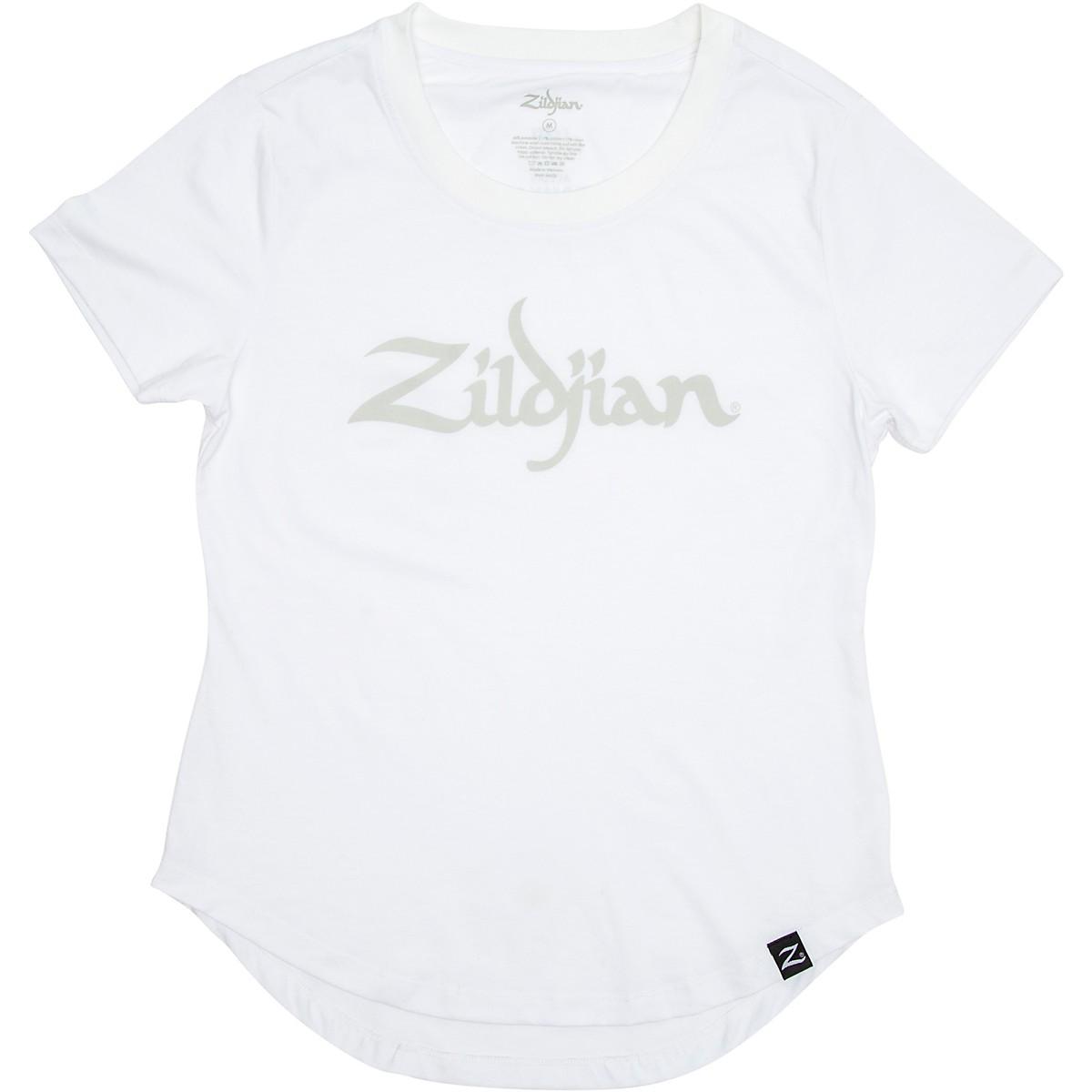 Zildjian Women's Logo Tee, White