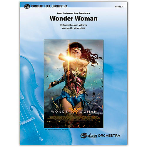 BELWIN Wonder Woman: From the Warner Bros. Soundtrack 3