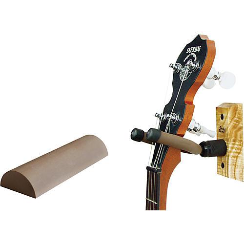 String Swing Wood Banjo Wall Hanger w/ Wall Bumper