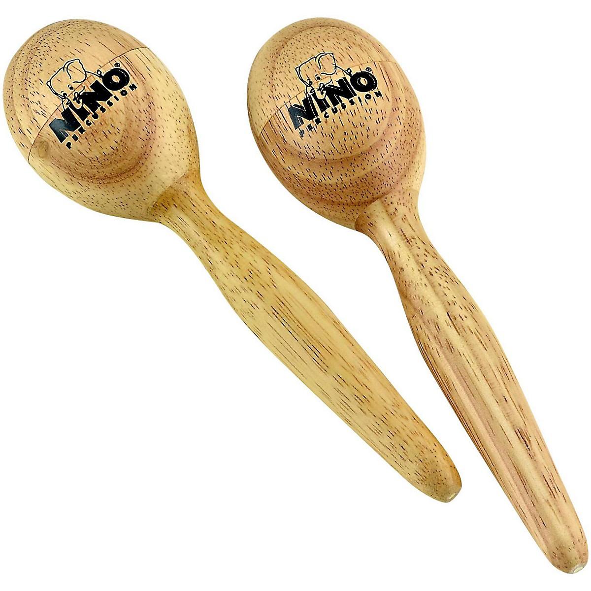 Nino Wood Egg Maracas/Pair