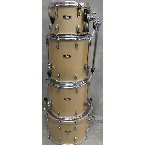 Pearl Wood-Fiberglass Drum Kit