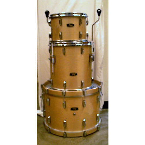 Pearl Wood Fiberglass Drum Kit