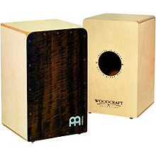 Woodcraft Collection Snare Cajon Quilted Eucalyptus Frontplate Medium