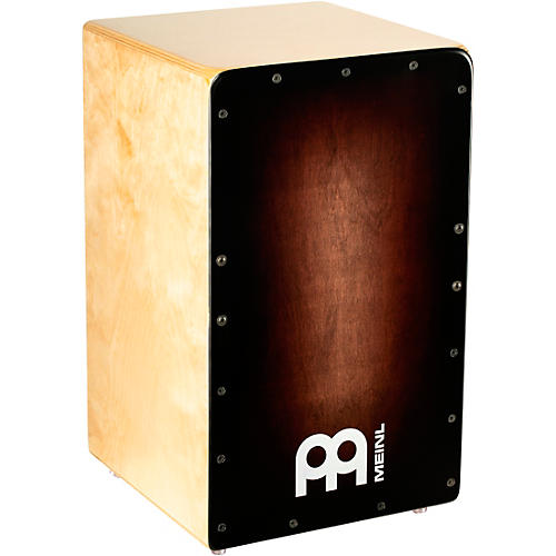 Meinl Woodcraft Series Cajon with Espresso Burst Frontplate