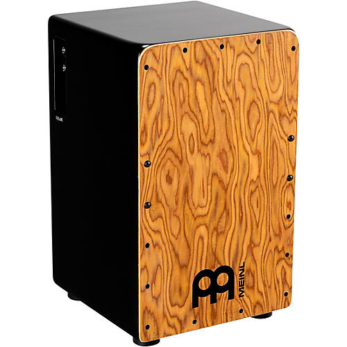 Meinl Woodcraft Series Professional Pickup Cajon with Makah Burl Frontplate