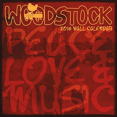 Browntrout Publishing Woodstock 2016 Calendar Square 12 x 12 In.