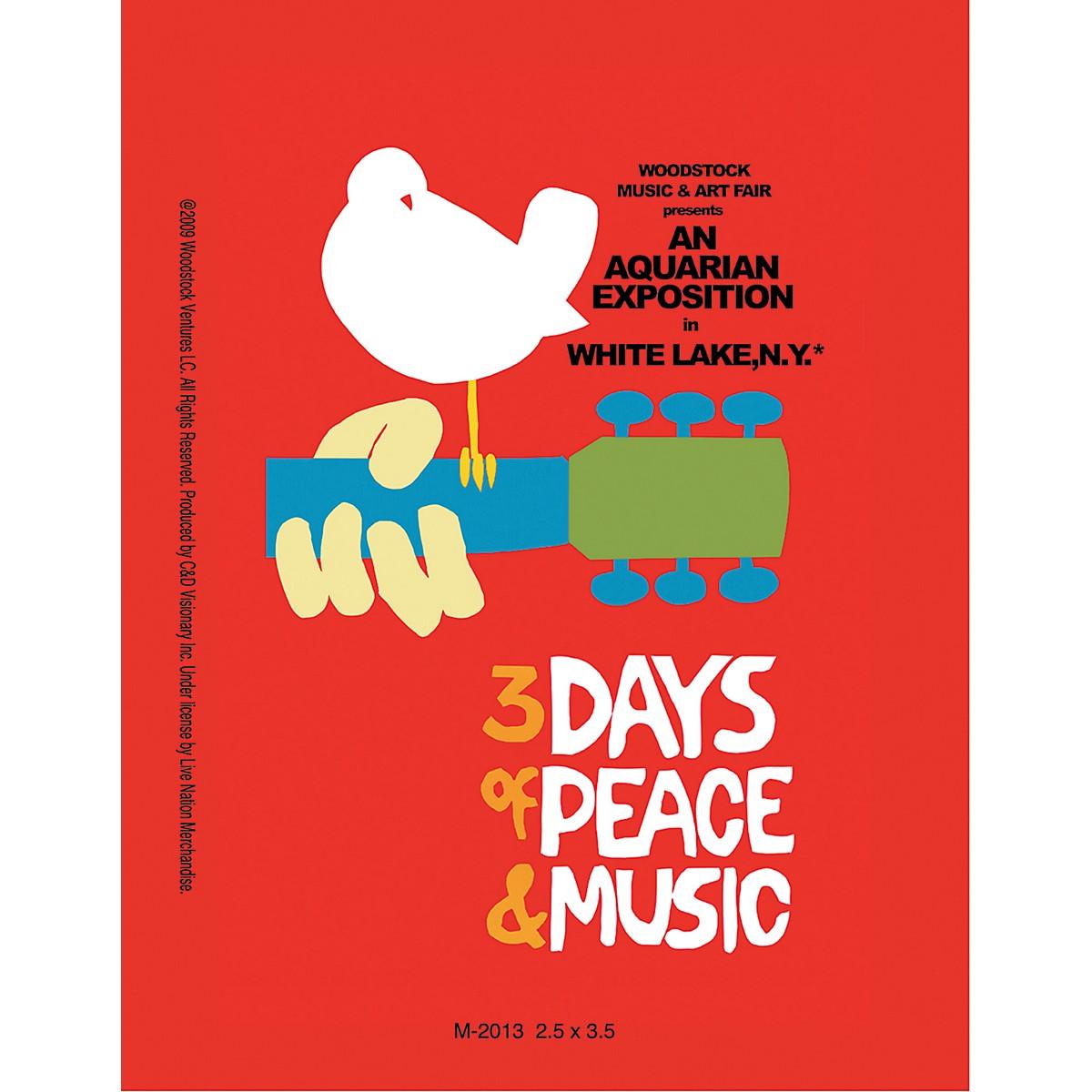C&D Visionary Woodstock Magnet