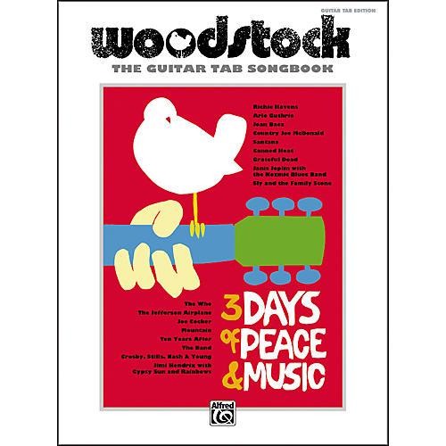 Alfred Woodstock: The Guitar TAB Songbook