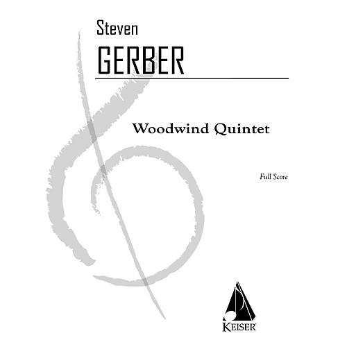 Lauren Keiser Music Publishing Woodwind Quintet LKM Music Series by Steven Gerber