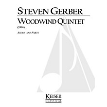 Lauren Keiser Music Publishing Woodwind Quintet LKM Music Series by Steven Gerber