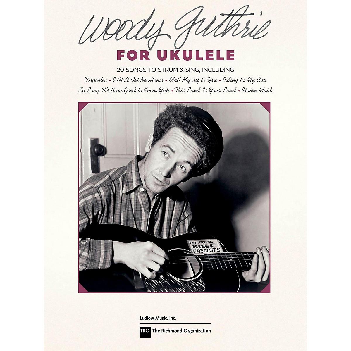 Hal Leonard Woody Guthrie For Ukulele