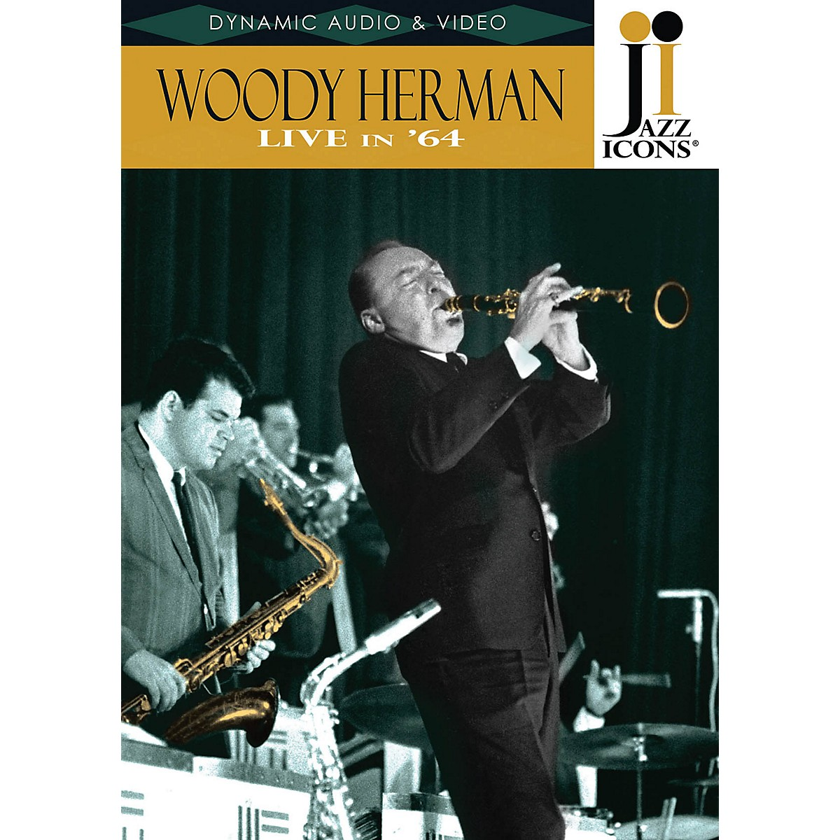Jazz Icons Woody Herman - Live in '64 (Jazz Icons DVD) DVD Series DVD Performed by Woody Herman