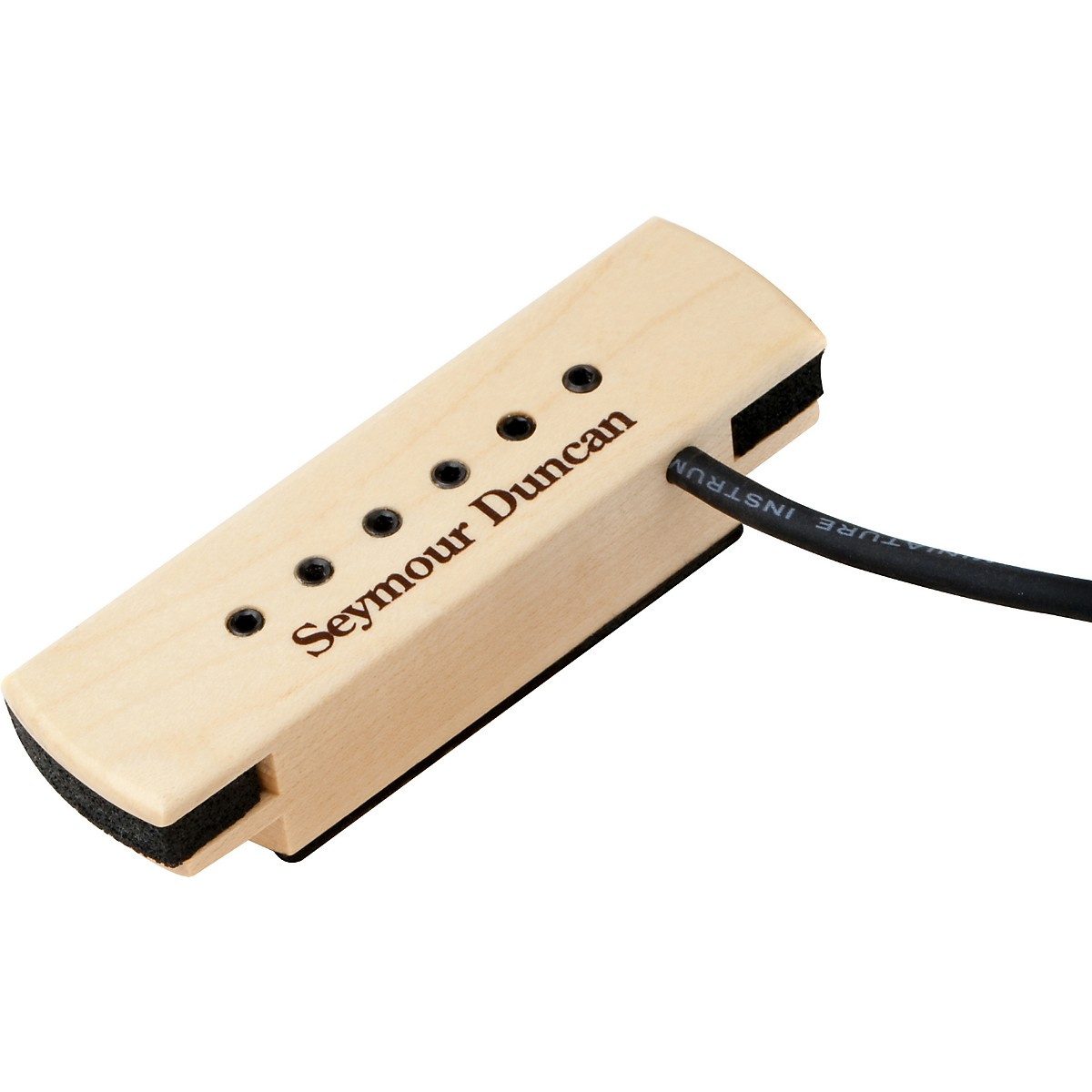 Seymour Duncan Woody XL Adjustable Pole Pieces Soundhole Pickup