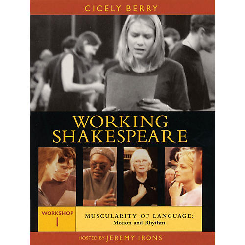 The Working Arts Library/Applause Working Shakespeare Applause Books Series DVD Written by William Shakespeare