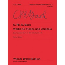 Carl Fischer Works for Violin and Harpsichord Book 1
