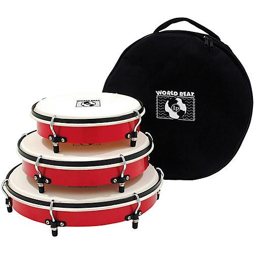 LP World Beat Plenera Drum Set with Bag
