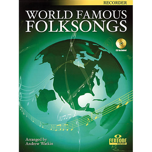 Fentone World Famous Folksongs (for Recorder) Fentone Instrumental Books Series