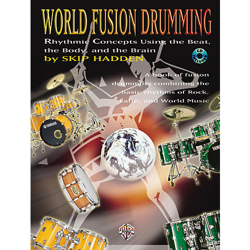 Alfred World Fusion Drumming Book/CD