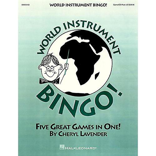 Hal Leonard World Instrument Bingo! (Game/Online Audio)