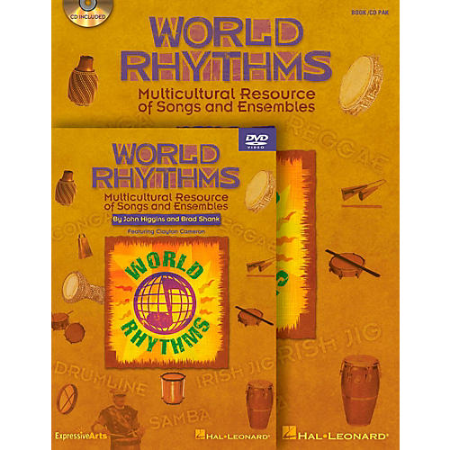Hal Leonard World Rhythms - Multicultural Resource of Songs and Ensembles Classroom Kit