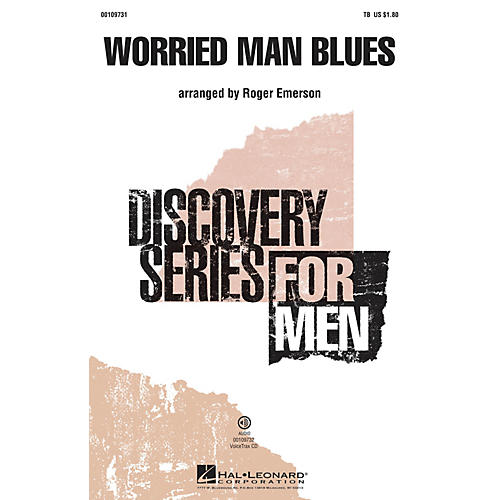 Hal Leonard Worried Man Blues (Discovery Level 2) VoiceTrax CD Arranged by Roger Emerson