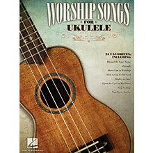 Hal Leonard Worship Songs For Ukulele Songbook