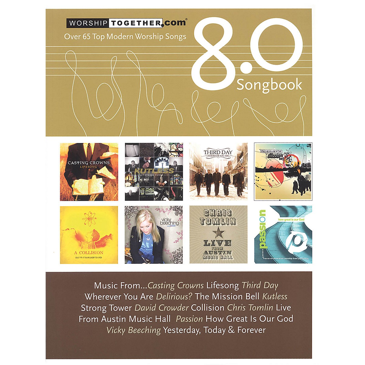 Hal Leonard Worship Together Songbook 8.0 Sacred Folio Series Softcover Performed by Various