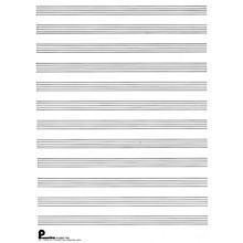 Music Sales Writing Pad No. 1: 12-stave (both sides) (Passantino Manuscript Paper) Music Sales America Series