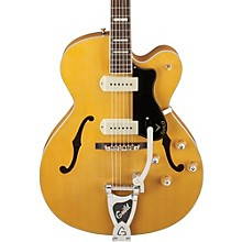 Guild X-175B Manhattan Hollowbody Archtop Electric Guitar with Guild Vibrato Tailpiece Level 1 Blonde
