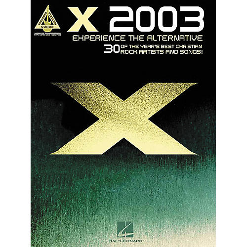 Hal Leonard X 2003 Experience the Alternative Guitar Tab Book