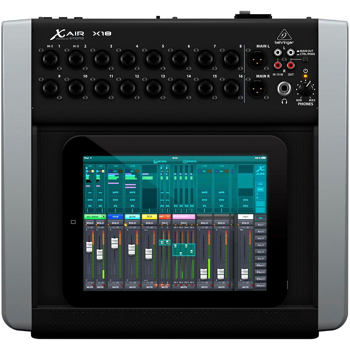 Behringer X AIR X18 Digital Desktop Mixer