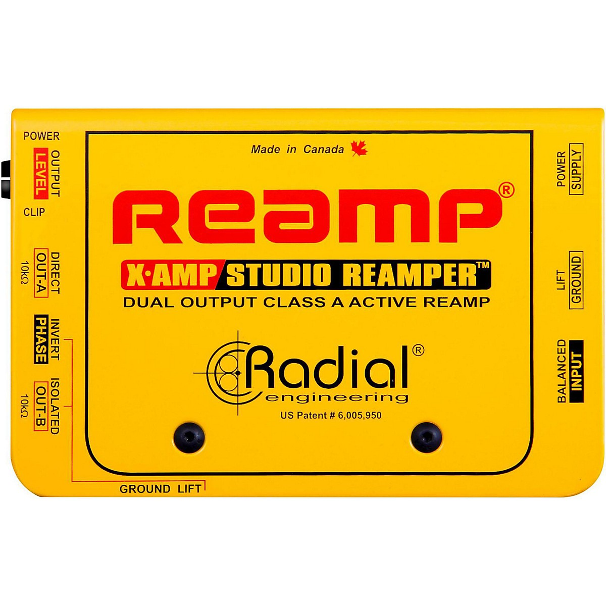 Radial Engineering X-Amp Active Reamplifier