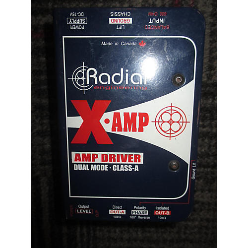 Radial Engineering X Amp Driver Direct Box