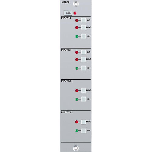 Solid State Logic X-Rack 8-Input Module