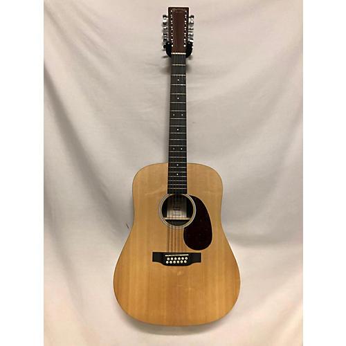 used martin x series 12 string 12 string acoustic electric guitar natural guitar center. Black Bedroom Furniture Sets. Home Design Ideas