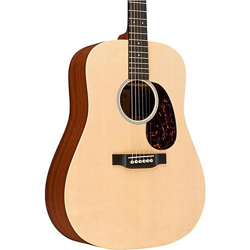 martin x series custom dx1 dreadnought acoustic guitar natural