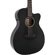 X Series Custom X-000CE Auditorium Acoustic-Electric Guitar Black