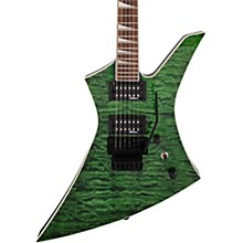 X Series Kelly KEXQ Electric Guitar Transparent Green