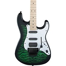 Jackson X Series Signature Adrian Smith SDXQ Electric Guitar Level 1 Transparent Green