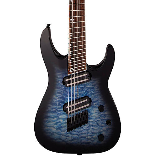 Jackson X Series Soloist Arch Top SLATX7Q MS 7-String Multi-Scale Electric Guitar