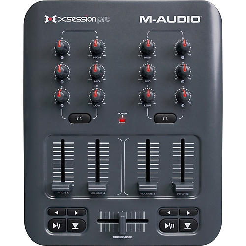 M-Audio X-Session Pro USB MIDI DJ Mixer Controller