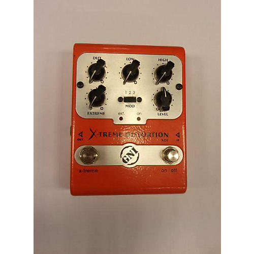 GNI PEDALS X-treme Distortion Effect Pedal