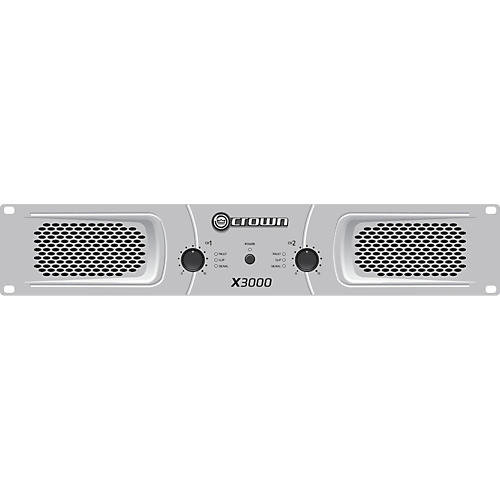 Crown X3000 Stereo 2x750W Power Amp