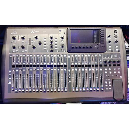 used behringer x32 core digital mixer guitar center. Black Bedroom Furniture Sets. Home Design Ideas