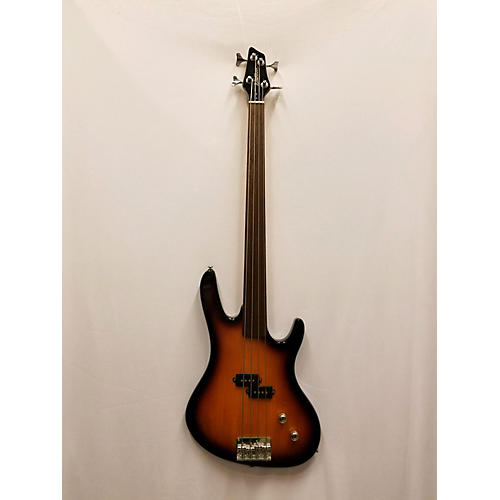 Washburn XB100 Fretless Electric Bass Guitar