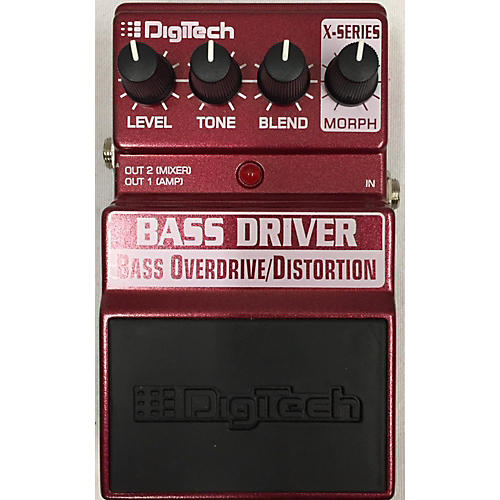 used digitech xbd bass driver bass overdrive distortion bass effect pedal guitar center. Black Bedroom Furniture Sets. Home Design Ideas