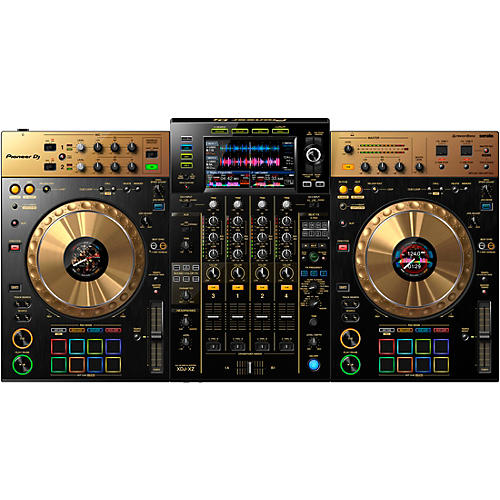 Pioneer XDJ-XZ-N Limited Edition Gold 4-Channel Standalone Controller for rekordbox dj and Serato DJ Pro